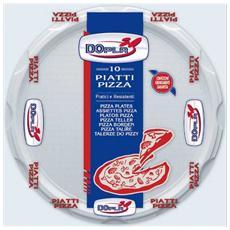 Piatti pizza linea plastica DOpla - bianco - Ø 32 cm - 01085 (conf. 10)