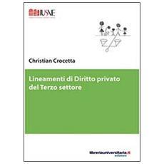 Lineamenti di diritto privato del terzo settore