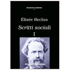 Scritti sociali. Vol. 1