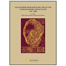 Bibliografia del dialetto veneziano del Novecento