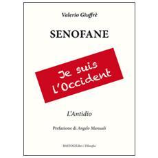 Senofane. L'antidio