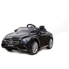 Auto Elettrica Mercedes Sl 63 Amg Nera Con Luci, Suoni E Telecomando 12 Volt 500 / bk