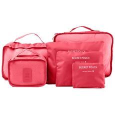 Organizer 6 In 1 Colore Rosso