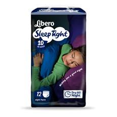 48 Pannolini Libero Sleep Tight Misura 10 (35-60 Kg) 4 Pacchi