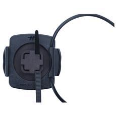 T4-100316 Bicicletta Passive holder Nero, Bianco supporto per personal communication