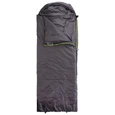 Campion Adulto Rectangular sleeping bag Poliestere Nero