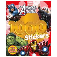 Avengers assemble. 1000 stickers. Con adesivi
