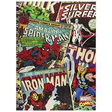Marvel Comics Notebook A5 Montage