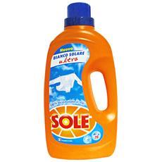 Lavatrice Liquido 20 Mis. Bianco Solare 1,3 Lt. Detergenti Casa