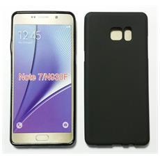 Custodia Cover Case Tpu Nero Per Samsung Galaxy Note 7 N930
