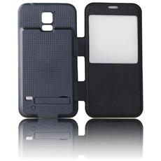 Cover''x2'' Fronte-retro Batteria Supplementare Compatibile Samsung S5