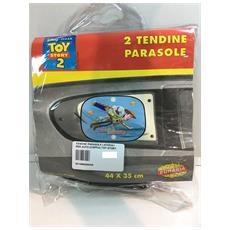 Tendine Parasole Laterali Per Auto (coppia) Toy Story Buzz Lightear Che Vola