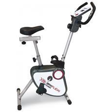 Cyclette BRX Flexy Funzione Vogatore a Cinghia con Hand Pulse Salvaspazio