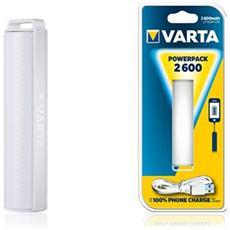 Portable Powerpack 2600 Mah Bianco