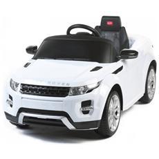 Auto Elettrica Range Rover Evoque Bianca Con Luci, Suoni E Telecomando 12 Volt 81400 / wh