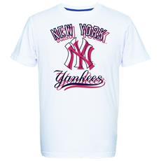 T-shirt Uomo Therma Yankees M Bianco Rosso
