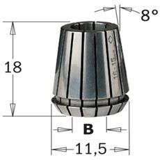 "Pinza Elastica """"er-11"""" (mm11.5x18) D=5mm 184.050.11"