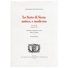 Lo stato di Siena antico e moderno. Parte 3-4. Vol. 2