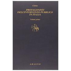 Protagonisti dell'intervento pubblico in Italia