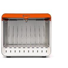 Griffin MultiDock 10 Bays, 32,3 cm, 38,3 cm, 32 cm, Arancione, Bianco, UL, CE, CCC, FCC, CB, C-Tick, TUV, 100 - 240V