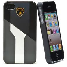 luxtyle bk / crome back cover for ip 4/4s
