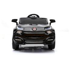 Auto Elettrica Fiat Suv Fcc4 Nera Con Luci, Suoni E Telecomando 12 Volt