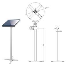 Digital Signage Stand, 10 kg