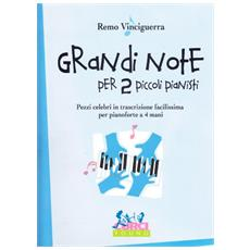 Grandi note per due piccoli pianisti