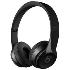Cuffie con Microfono On-Ear Wireless Beats Solo3 Colore Nero Lucido