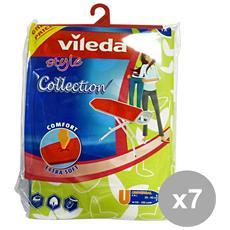 Set 7 Telo Per Asse Da Stiro Extra Soft Style Collection 142470 Bucato