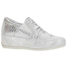 IGI CO - 1159111 Sneakers Slip On Mocassini Scarpe Basse Donna In Pelle  Argento Argento 37 d7951285427