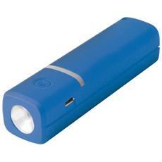 Li-Ion 2600mAh, Ioni di Litio, USB, Blu, micro USB, Universale, Micro-USB