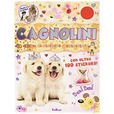 Cagnolini. Un album di stickers e attività. Con adesivi