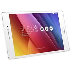"""Tablet ZenPad 8.0 Bianco 8"""" HD Quad Core Memoria 16 GB +Slot MicroSD Wi-Fi - 4G Fotocamera 5Mpx Android - Italia"""