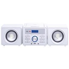 Mini Hi-fi Stereo Trevi Hcx 1030 S Bianco