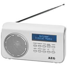 DAB 4130, 3,5 mm, Portatile, LCD, Digitale, 50/60, DAB+, FM, PLL, UKW