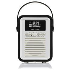 Retro Mini, 3,5 mm, AA, Portatile, LCD, Digitale, DAB, DAB+, FM