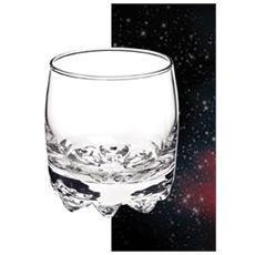 Confezione 3 Pezzi Bicchiere - Modello Galassia