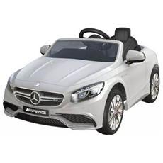 Auto Elettrica Mercedes Sl 63 Amg Bianco Con Luci, Suoni E Telecomando 12 Volt 500 / wh