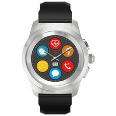 Smartwatch Zetime con Bluetooth Impermeabile 5ATM Cardiofrequenzimetro Incluso Nero - Europa
