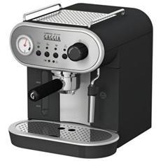 GAGGIA - Carezza Deluxe Macchina da Caffè Espresso Manuale Serbatoio da 1.4 Litro Potenza 1900 Watt Colore...