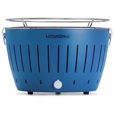 Barbecue Da Tavolo Blu