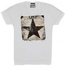 T-shirt Uomo Logo Man Photo L Bianco