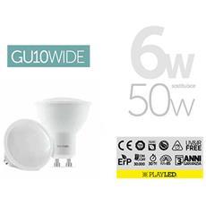 Gu10 Wide Over Lux 6w 2700k