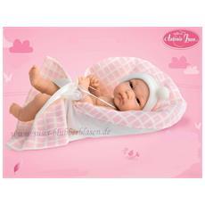 Bambolott Rosa Cushion 33 Centimetri Rosa Con Coperta A Quadretti Juan Antonio