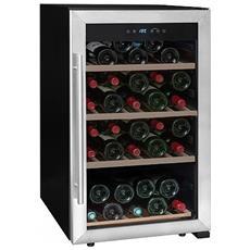 Cantinetta Vino LS52A Capacità 52 Bottiglie Classe A Colore Nero