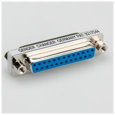 Mini Gender Changer, 25-pin F - F cavo di interfaccia e adattatore