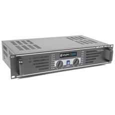 SKY-600B Amplificatore Professionale Ventilato Pro Series 1200 Watt Colore Nero
