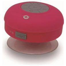 Speaker Audio Portatile CSPKBTWPSUCP Bluetooth Waterproof - Rosa