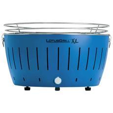 Barbecue Xl Da Tavolo Colore Blu